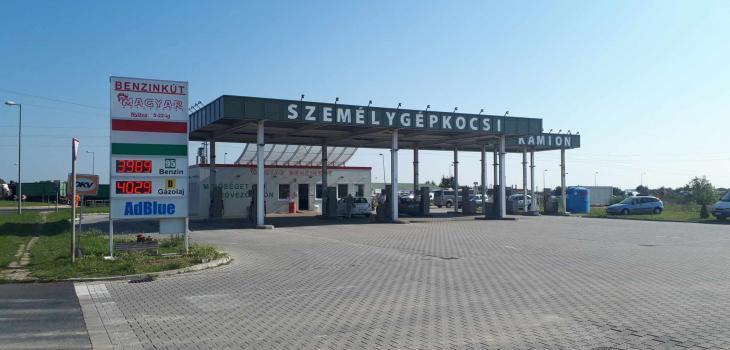 Szombathelyi Magyar benzinkút