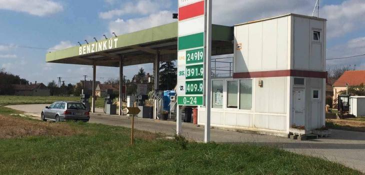 Jánosházi Magyar benzinkút