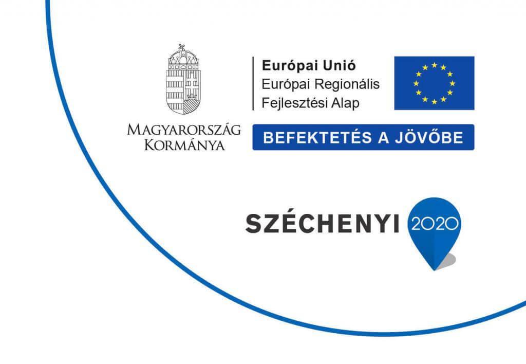 Infoblokk Széchenyi 2020 ERFA GINOP-2.1.8-17-2018-01845